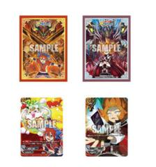 Vol.1 Sleeve Set Buddyfight Character Exclusive Sleeves