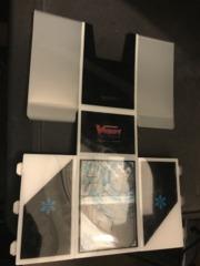Fold- Up Deck Box (Blue Vanguard)