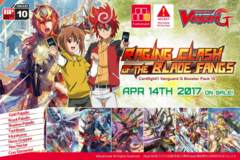 Cardfight!! Vanguard G Booster Pack Vol. 10: Raging Clash of the Blade Fangs