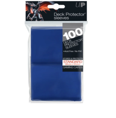 Ultra Pro Standard Size Deck Protector sleeves 100 ct Blue