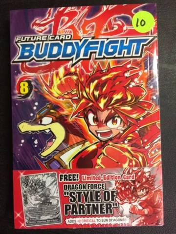 Buddy Fight Manga Vol. 8 (English)