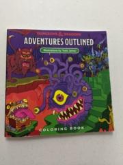 Coloring Book - D & D