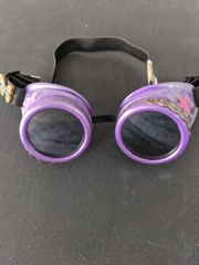 Steampunk Goggles - Purple