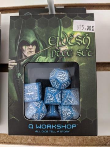 Elvish - Blue/White