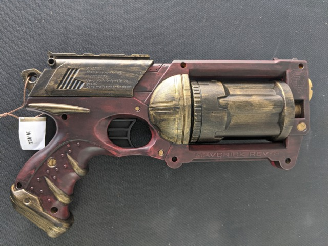 Steampunk Blaster - Red