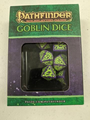 PFRPG: Goblin: purple/green