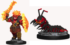 Wardlings: Fire Orc and Centipede