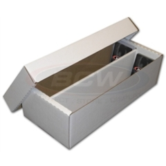 BCW 1600-Count Cardboard Box