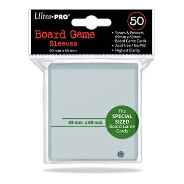 Ultra Pro: 69mm X 69mm Board Game Sleeves 50ct