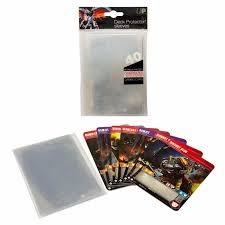 Ultra Pro - Deck Protectors - Top Loading Oversized Sleeves 40Ct Clear