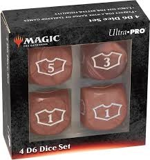 Ultra Pro Dice: Deluxe Loyalty Set - Red