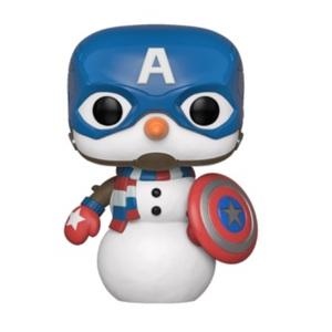 Pop! Holiday: Marvel - Cap Snowman