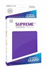 UG Supreme UX Sleeves Small Purple 60CT