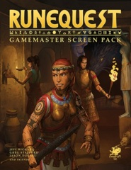 Runequest: Gamemaster Screen Pack
