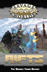 Rifts: The Garnet Town Gambit Adventure and Game Master's Screen