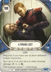 A Friend Lost