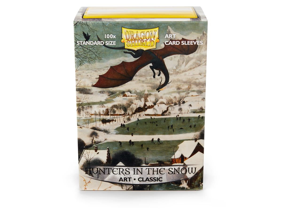 Dragon Shield Art Sleeves: Hunters in the Snow (100 Count)