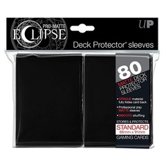 Ultra Pro Eclipse Sleeves: Black 80 Count
