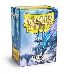 Dragon Shield Box of 100 in Matte Petrol