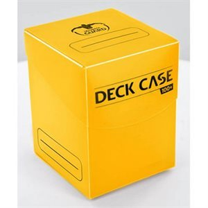Ultimate Guard Deck Case: Yellow 100+