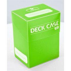 Ultimate Guard Deck Case 80+ Light Green