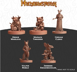 Humblewood: Humblefolk