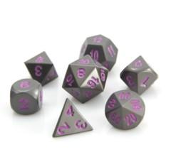 RPG Set - Gunmetal w/ Purple