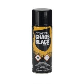 Chaos Black Primer Spray