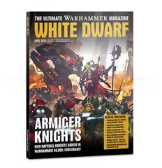 White Dwarf Magazine April 2018