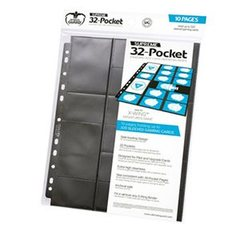 Ultimate Guard 32 Standard & Mini Pocket (Standard Binder) Black (10)