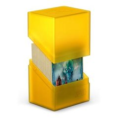 Ultimate Guard - Deck Case 80+ Boulder - Amber