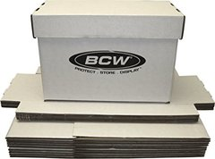 BCW Comic Box Short Storage Box