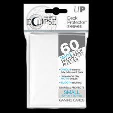 Ultra Pro Small Eclipse Sleeves: Matte White 60 Count