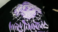 Hairy Tarantula Hoodie: M Black