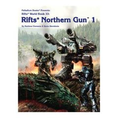 Rifts World Book 33: Northern Gun 1