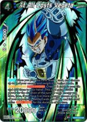 At All Costs Vegeta - BT4-030 - SR (Shatterfoil)