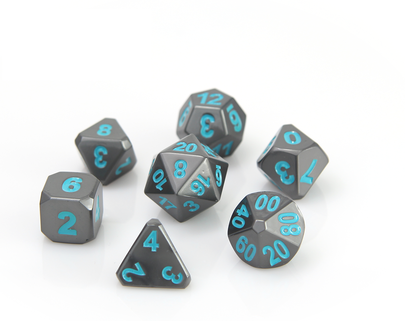Forge Dice - Gunmetal Teal