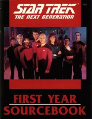 Star Trek: The Next Generation - First Year Sourcebook