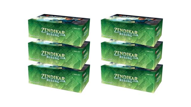 Zendikar Rising Booster Case (6 boxes)