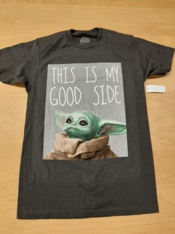 Mandalorian - Baby Yoda This Is My Good Side S