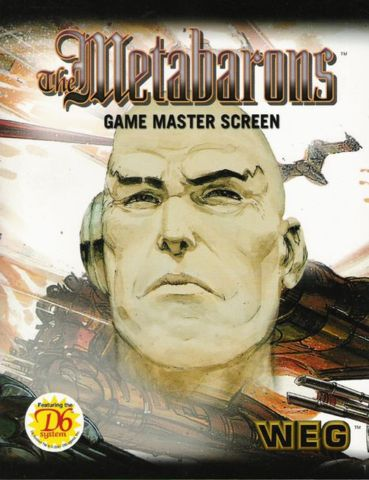 The Metabarons Game Master Screen