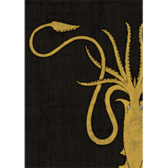 Fantasy Flight Sleeves: HBO Game of Thrones Sleeves: House Greyjoy