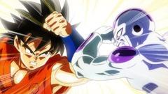 Dragon Ball Z - Resurrection F Black Men's Tee - Medium
