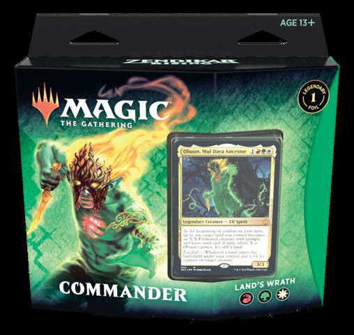 Zendikar Rising Commander Deck - Lands Wrath