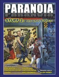 Paranoia - STUFF 2: The Gray Subnets (Softcover)