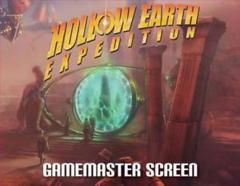 Hollow Earth Expedition GM Screen