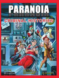 Paranoia - Criminal Histories (Softcover)