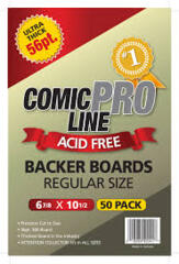 Comic Pro Line Regular Boards 56pt