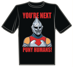 Youre Next Puny Humans T/S Xxxl