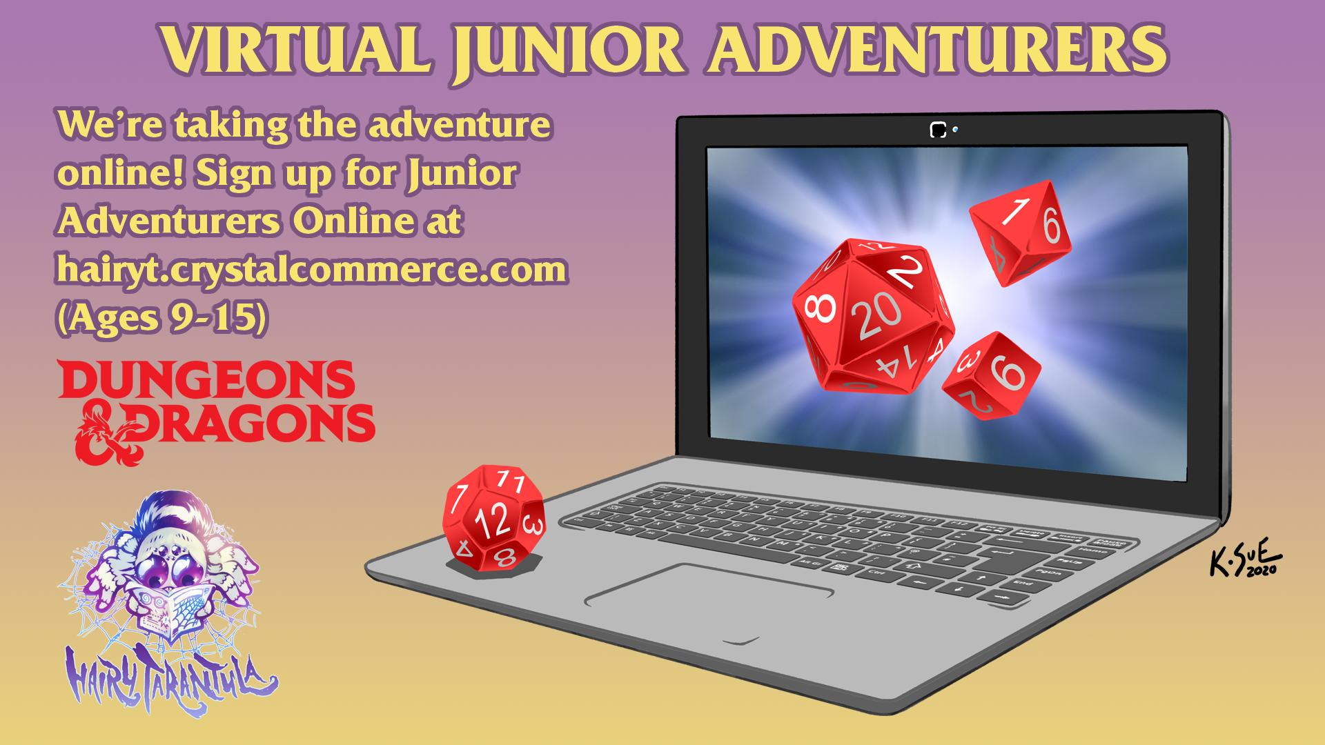 Virtual Junior Adventurers - Saturday